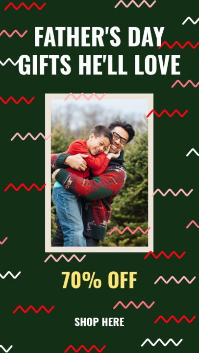 Instagram Story Generator for Father's Day Deals 2544g