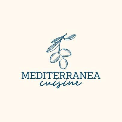 Classy Logo Template for a Gourmet Restaurant 1534-el1