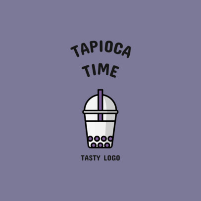 Simple Logo Maker for a Tapioca Place 1491b-el1