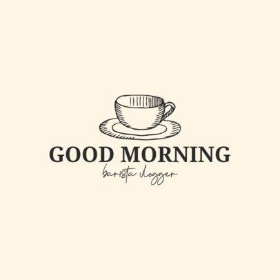 Logo Creator for Coffee Addict Vloggers 1534a-el1