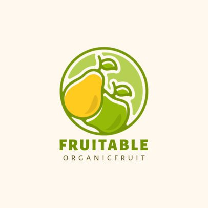 Modern Logo Maker for an Organic-Only Brand 1595-el1