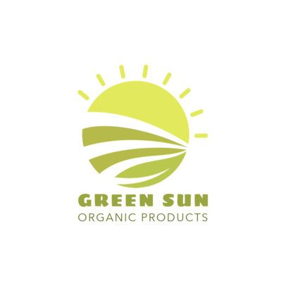Logo Creator for an Organic Product Distributor 1595a-el1