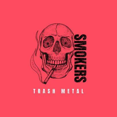 Logo Generator for Metal Rock Musicians 1630c-el1
