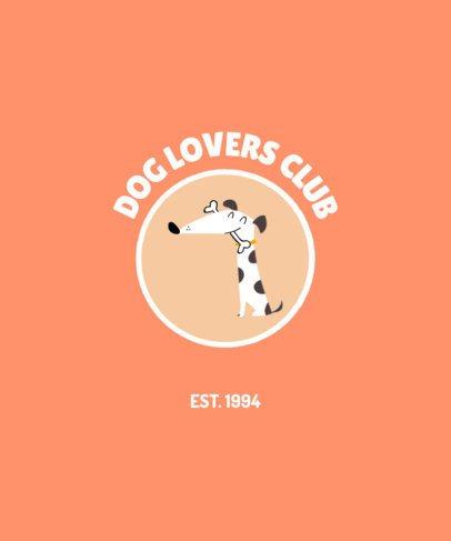 T-Shirt Design Maker for a Proud Dog Owner 1540c-el1
