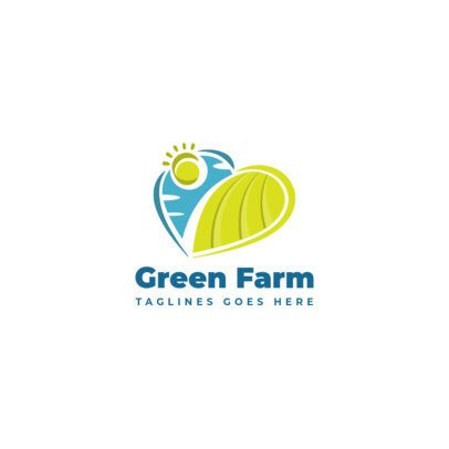 Modern Logo Maker for an Organic Food Brand 1588-el1