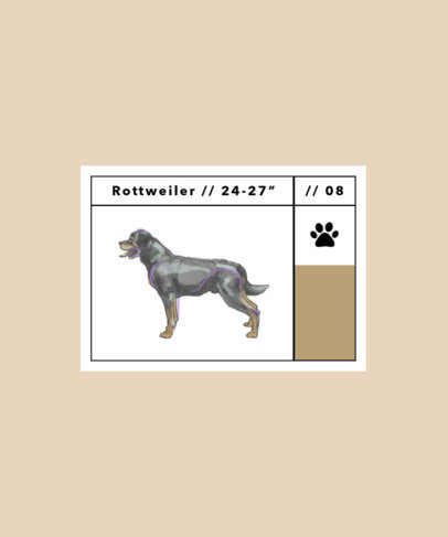 T-Shirt Design Maker with Realistic Illustrations of Dog Breeds 1515-el1