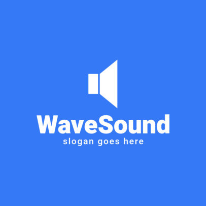 Logo Maker for Music Software Featuring Flat Icons 1725-el1