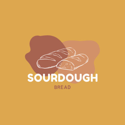Logo Creator Featuring a Sourdough Bread 1746a-el1