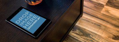 Nexus 7 Black Brown Table Top Shot