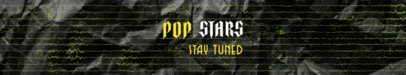 Bandcamp Header Maker for a Rising Pop Star Channel 2600f