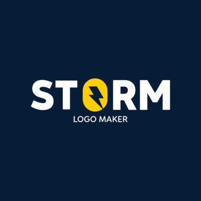 Typography Logo Maker with a Graphic Inside a Letter