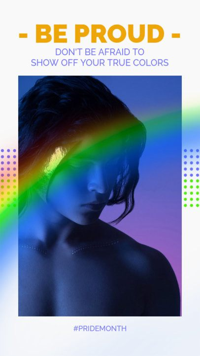 Encouraging Instagram Story Creator for LGBTQ Pride 2641b