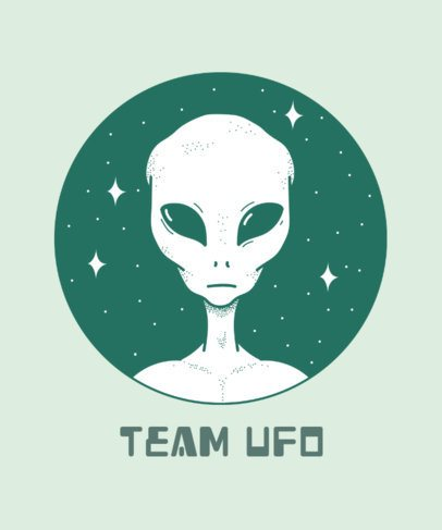 T-Shirt Design Generator for Alien Enthusiasts 445h-2665