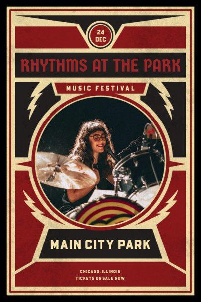 Poster Design Creator for Indie Music Festivals 1892-el1