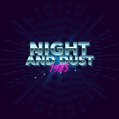 Modern Logo Maker with Fun Retro Typography 3397