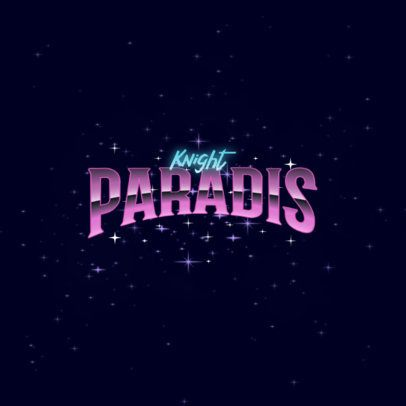 Typography Logo Maker Featuring 80s-Styled Chrome Fonts 3395