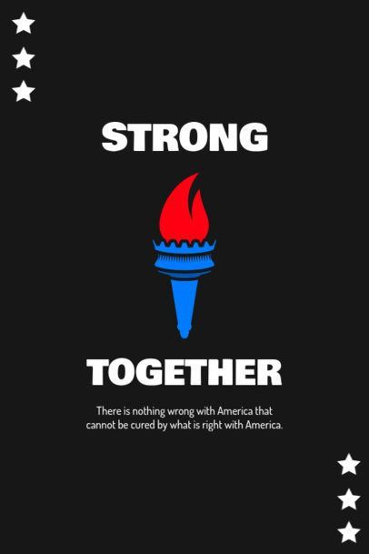 Pinterest Pin Maker Featuring a Quote to Celebrate 4th of July 1948d-el1