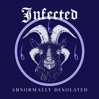 Album Cover Generator with a Demonic Goat Graphic 2692e
