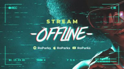 Twitch Offline Banner Creator for a Singer 2700b