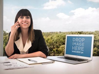 Stillshot Apple MacBook Air Business Woman