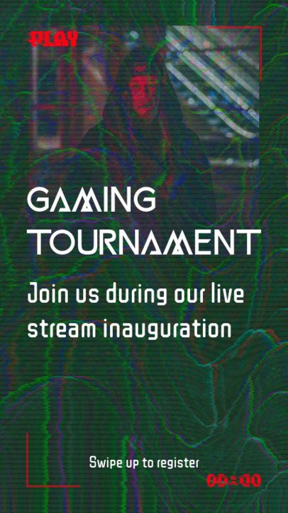 Instagram Story Generator for a Gaming Tournament 2699b