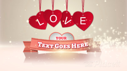 Intro Maker Featuring Animated Valentine's Day-Themed Graphics 623-el1