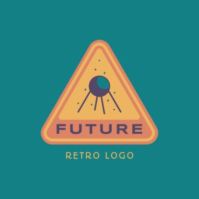 Retro Logo Generator Featuring a Satellite Illustration 3451b