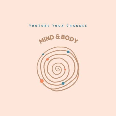Logo Generator for a Yoga Channel 3465d