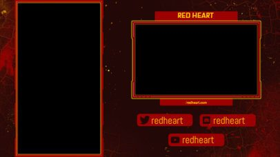Twitch Overlay Generator for Vertical Games Featuring Social Media Boxes 2729b