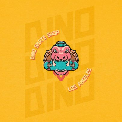 Authentic Logo Creator for a Rad Skate Shop 2264a-el1