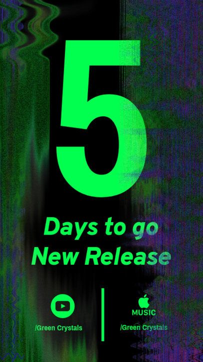 Instagram Story Creator for a Music Release in Five Days 2758a