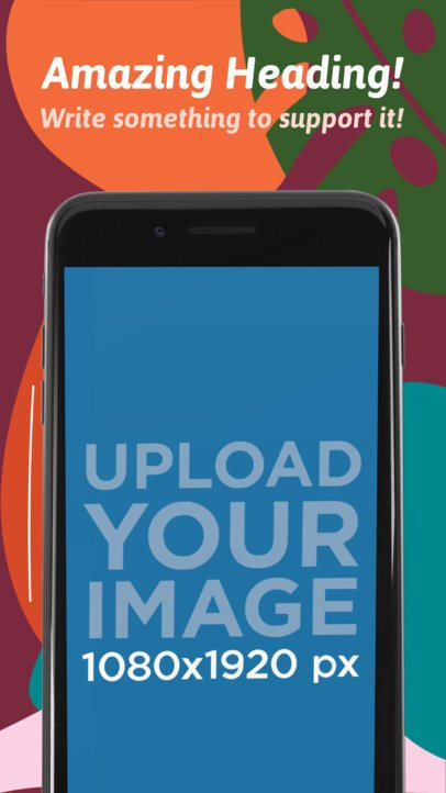 App Store Image Builder iPhone 7 Black