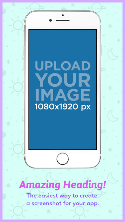 iPhone 7 Floating App Store Screenshot Maker 1311