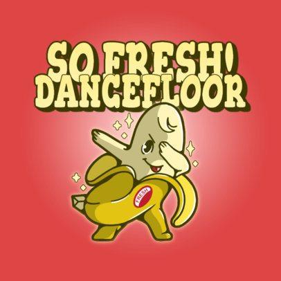 Logo Maker Featuring a Dabbing Banana Graphic 3529g