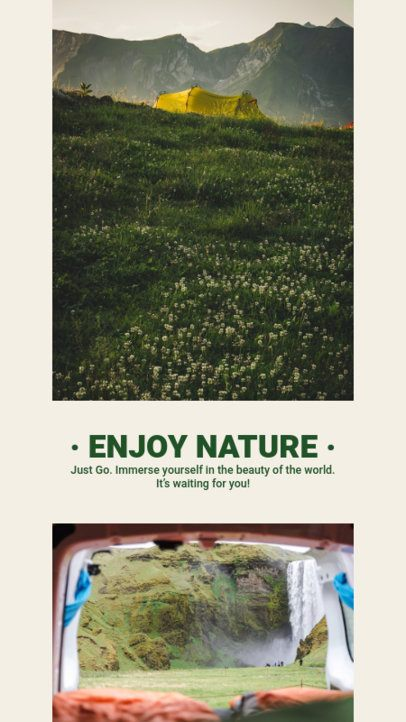 Instagram Story Creator Featuring Outdoor-Activity Pictures 2485d-el1