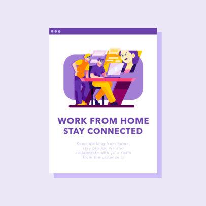 Instagram Post Maker Featuring Online Conference Illustrations 2587-el1
