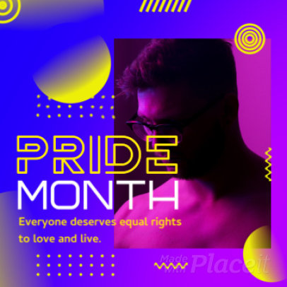 Modern Instagram Video Maker for an LGBTQ-Pride Month Celebration 2161