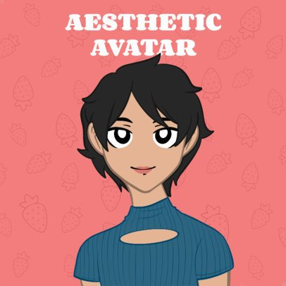 Online Avatar Maker with an Anime Style 2838