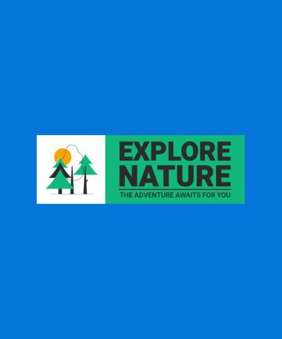 Quote T-Shirt Design Maker for a Nature Explorer 2612c-el1