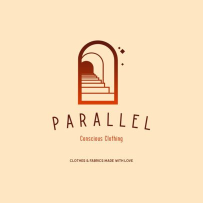 Online Logo Generator for Ethical and Sustainable Apparel Brands 3630c