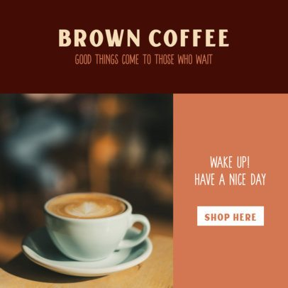 Ad Banner Generator for a Coffee-Related Network Marketing 2904f