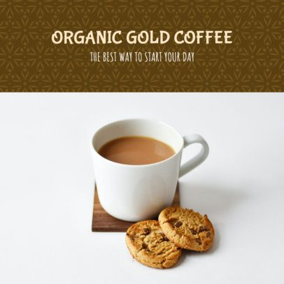 Ad Banner Maker for an MLM Organic Coffee Seller 2904a