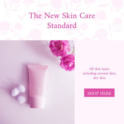 Ad Banner Template for Skin Care Products MLM Sellers 2904k