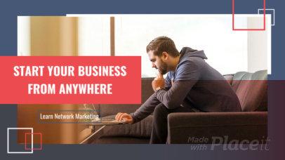 Slideshow Video Maker for a Network Marketing Webinar 1542c-2298