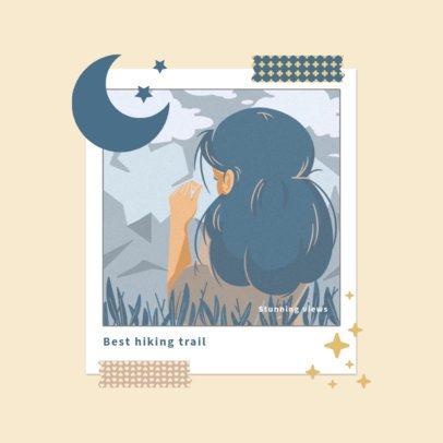 Illustrated Album Cover Art Maker for a Pop Ballad Music Artist 3644e