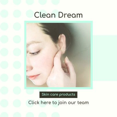 Ad Banner Design Maker for an MLM Skincare Line 2902b