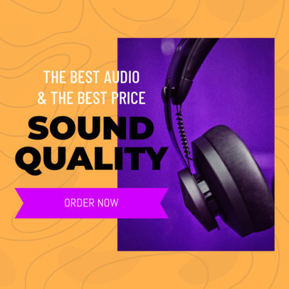 Ad Banner Design Template for a Dropshipping Offer 2936