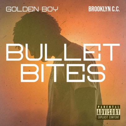 Album Cover Template for a Rising R&B Singer 2933k