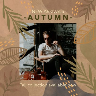 Instagram Post Maker for a Fall Collection Release 2946c