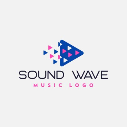 Free Online Logo Creator for a Sound Software 3694b